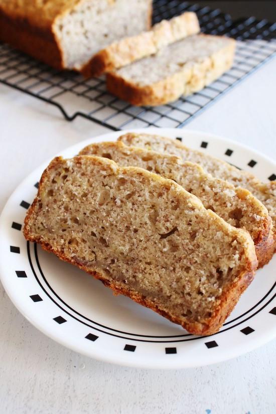 Best Vegan Banana Bread Recipe  Eggless banana bread recipe Vegan banana bread recipe