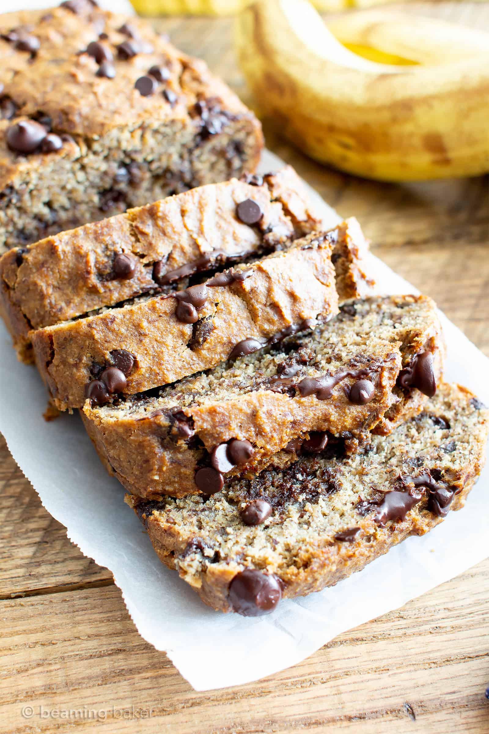 Best Vegan Banana Bread Recipe  Best Moist Chocolate Chip Banana Bread Recipe Vegan