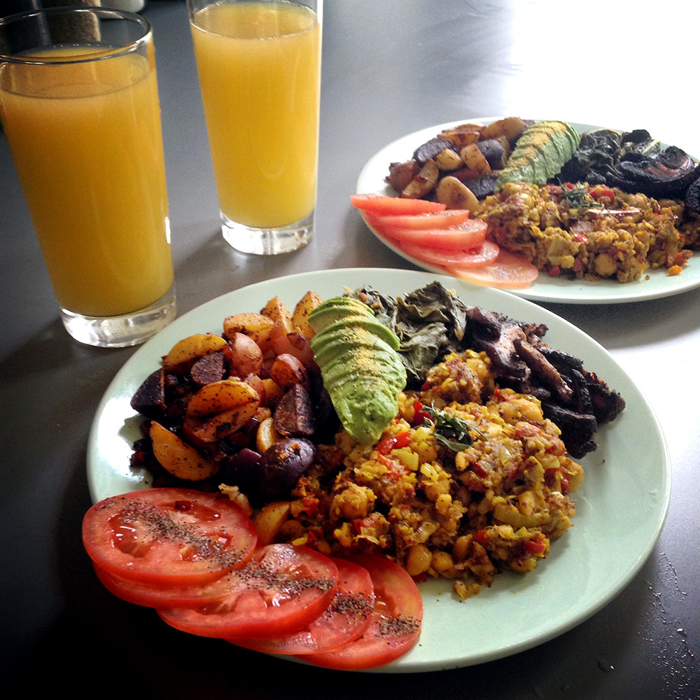 Best Vegan Brunch Recipes  Vegan Breakfast Recipes Best Tofu Scramble Recipe