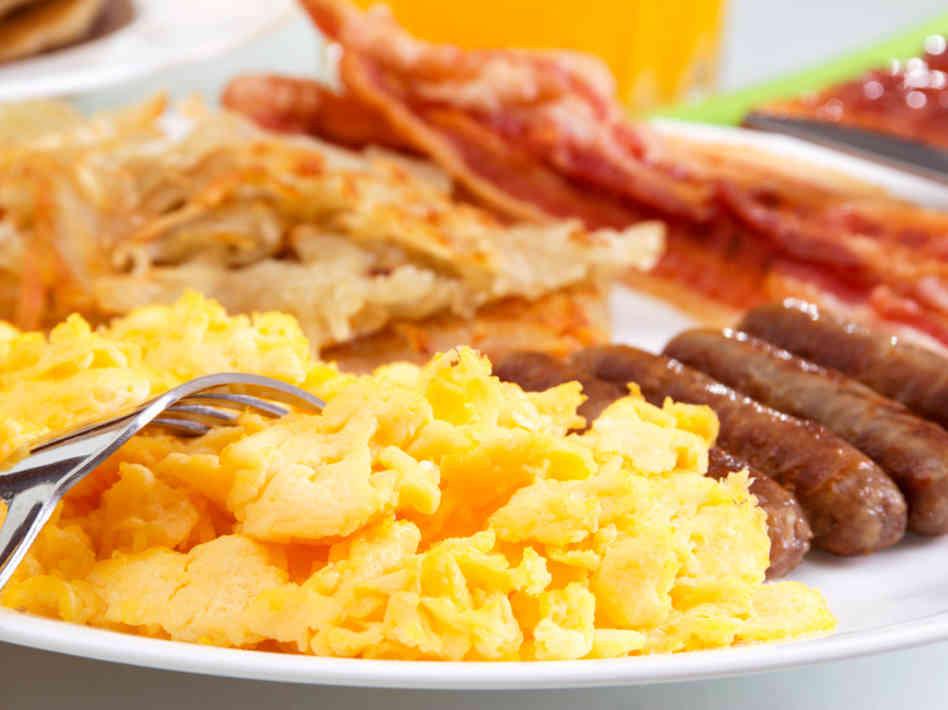 Big Healthy Breakfast  Big Breakfast Healthy fried breakfast recipe