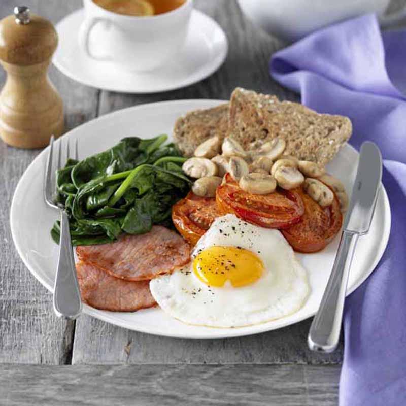 Big Healthy Breakfast  Big breakfast Recipes