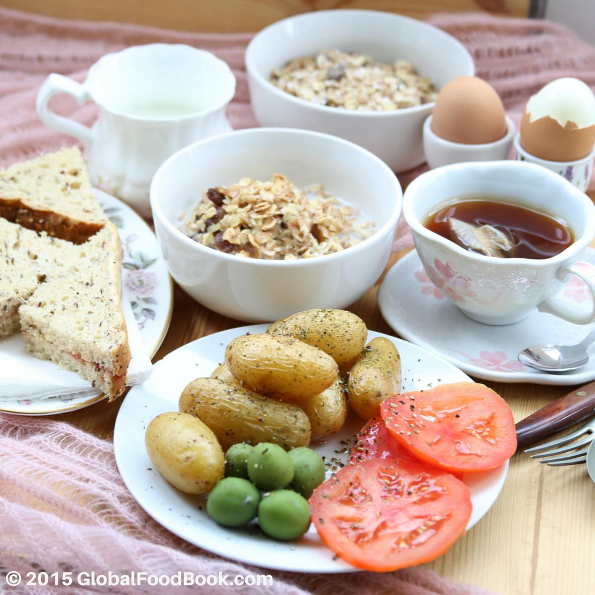 Big Healthy Breakfast  Eat A Big Healthy Breakfast To Get Your Eggs Fertilised