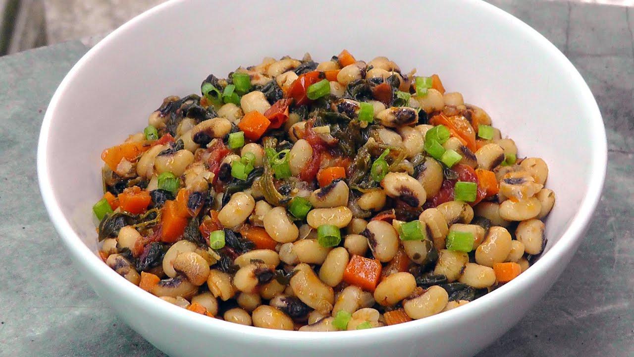 Black Vegan Recipes  ve arian black eyed peas recipe