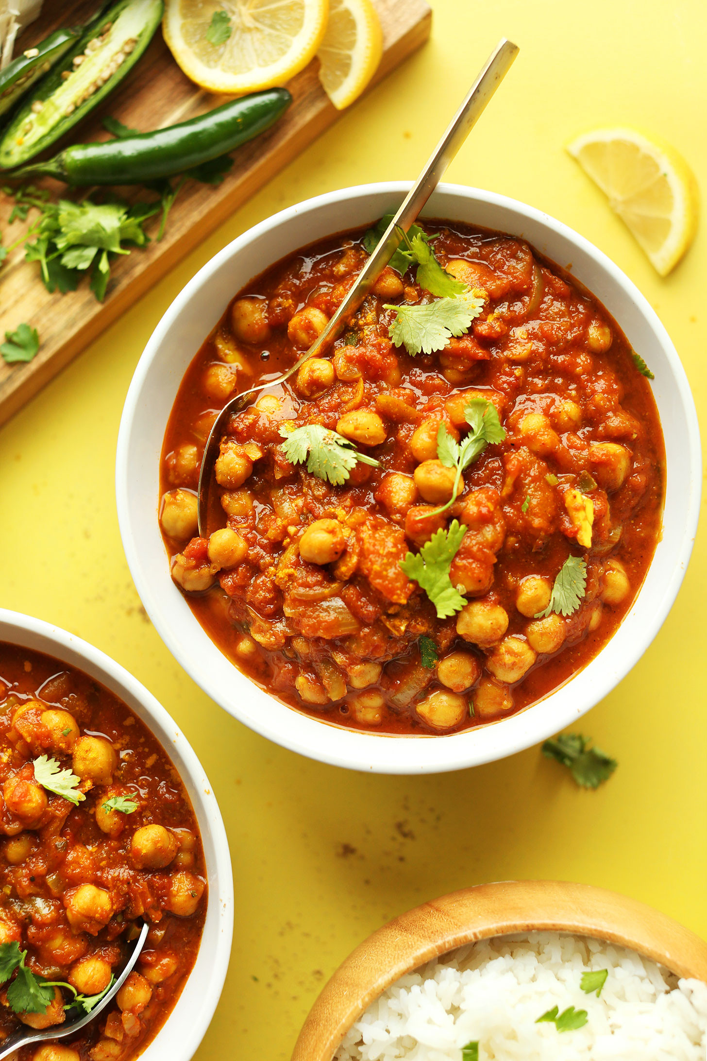 Black Vegan Recipes  Easy Chana Masala