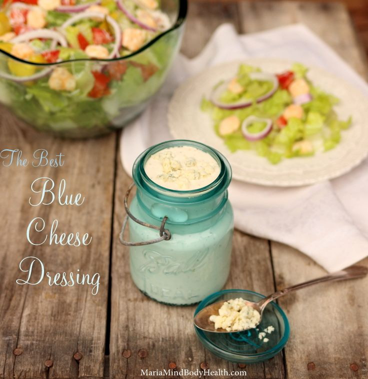 Blue Cheese Dressing Keto Diet  The BEST Blue Cheese Dressing Recipe