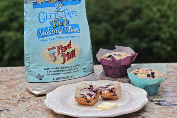 Bob'S Red Mill Gluten Free 1 To 1 Baking Flour Bread Recipe  Bob's Red Mill Gluten Free 1 to 1 Baking Flour Blueberry