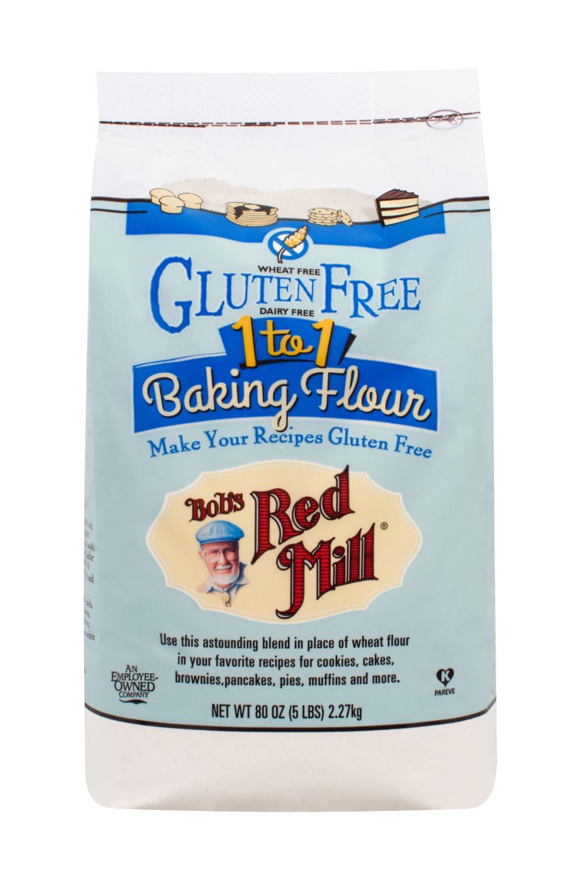 Bob'S Red Mill Gluten Free 1 To 1 Baking Flour Bread Recipe  Bob s Red Mill Gluten Free 1 To 1 Baking Flour 80 Oz
