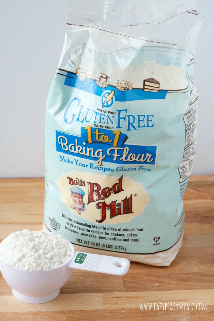 Bob'S Red Mill Gluten Free 1 To 1 Baking Flour Bread Recipe  Gluten Free Pumpkin Cake Roll Easy Peasy Meals