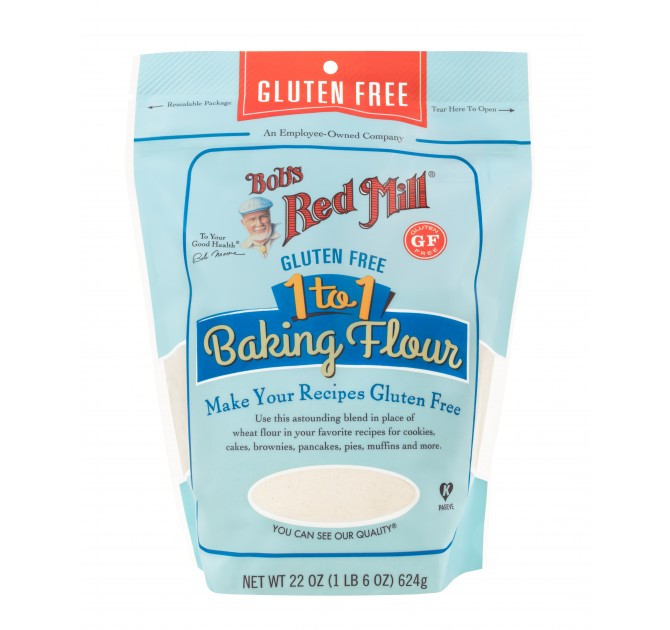 Bob'S Red Mill Gluten Free 1 To 1 Baking Flour Bread Recipe  bob s red mill 1 to 1 baking flour bread recipe