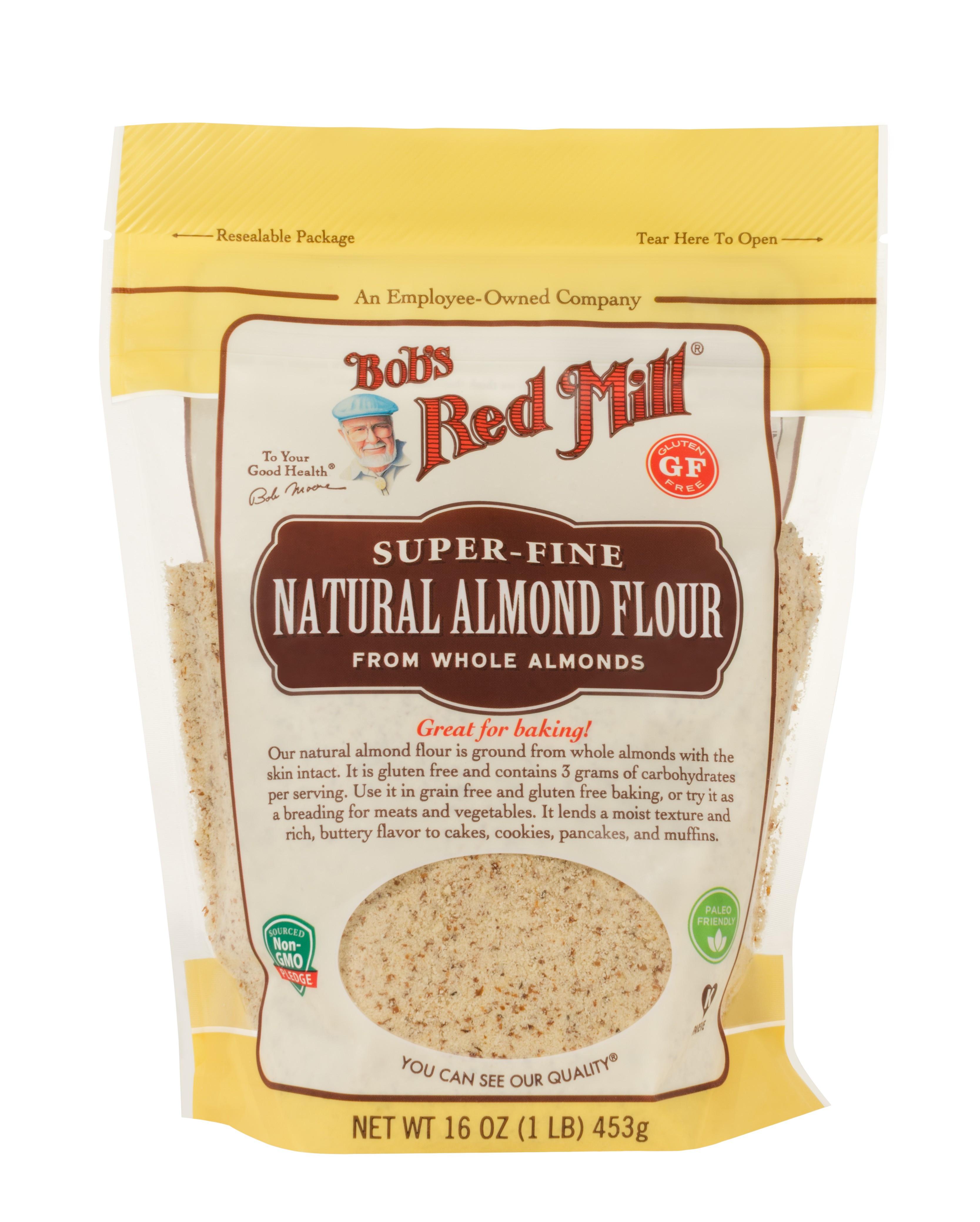 Bob'S Red Mill Gluten Free 1 To 1 Baking Flour Bread Recipe  bob red mill recipes almond flour