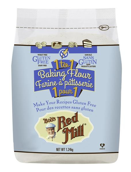 Bob'S Red Mill Gluten Free 1 To 1 Baking Flour Bread Recipe  Bob s Red Mill Gluten Free 1 to 1 Baking Flour 1 24kg