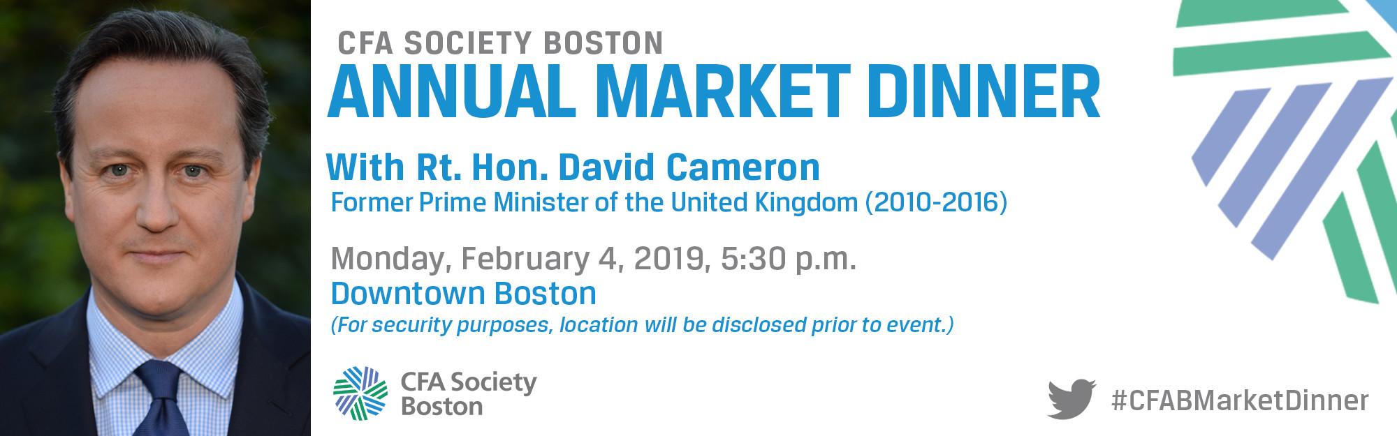 Boston Market Easter Dinner 2019  CFA Boston s Market Dinner 2019
