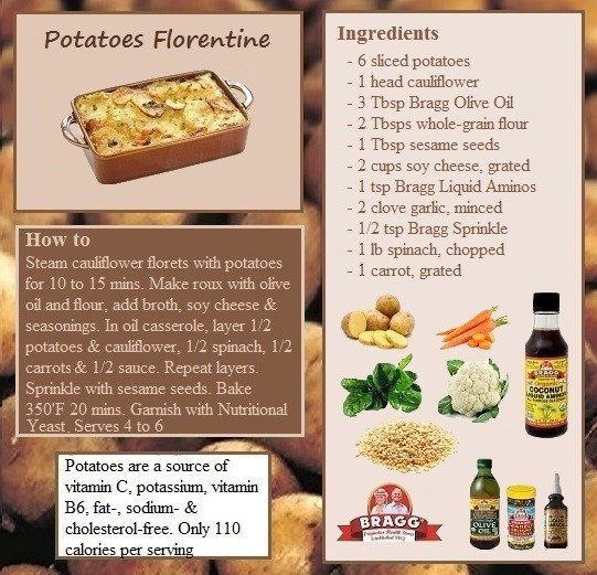 Bragg Vegetarian Health Recipes  ve arian