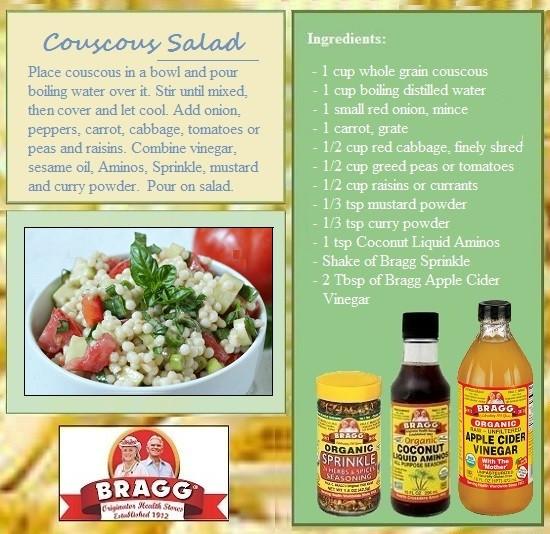 Bragg Vegetarian Health Recipes  recipes