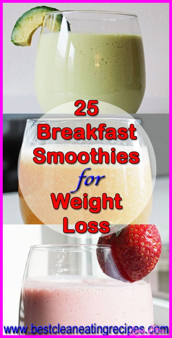 Breakfast Drinks For Weight Loss  Healthy Breakfast Shakes To Lose Weight Recipes