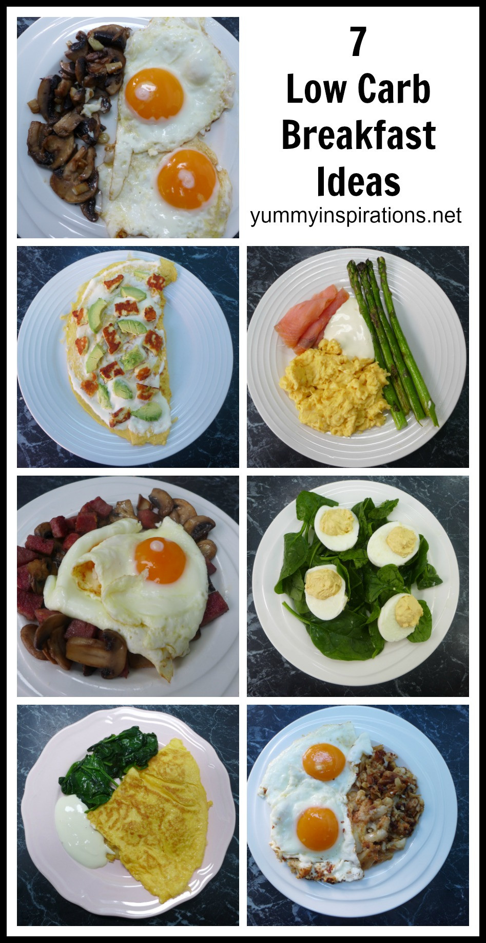 Breakfast Keto Recipes  7 Low Carb Breakfast Ideas A week of Keto Breakfast Recipes