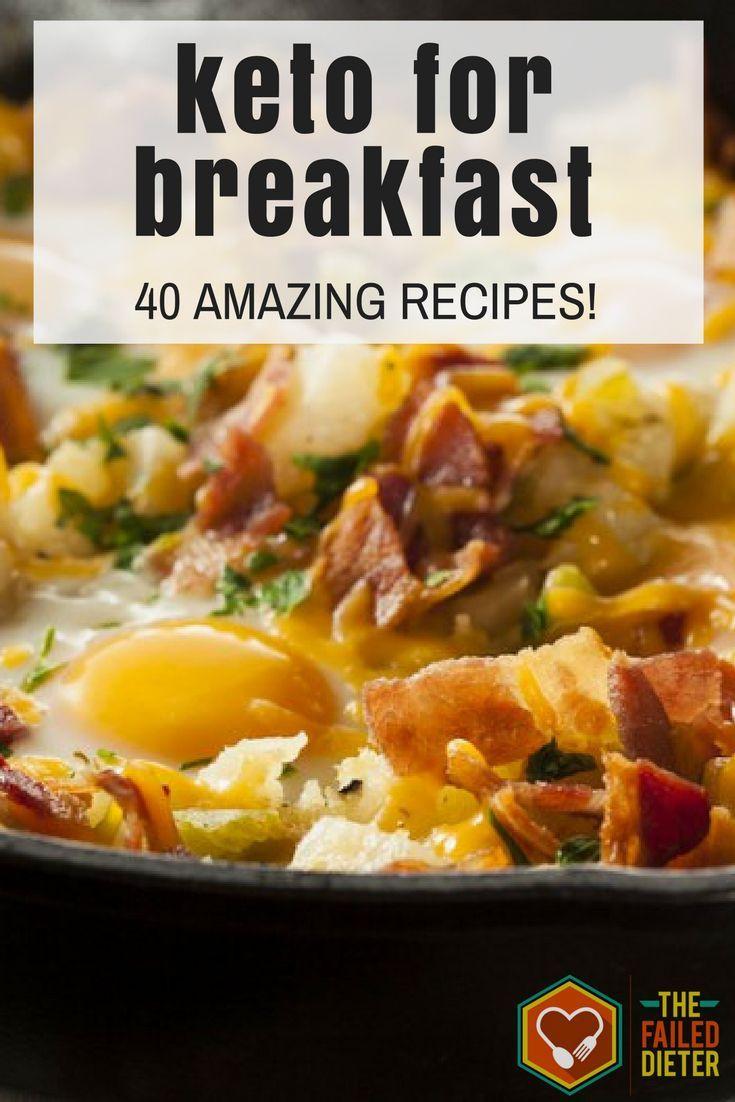 Breakfast Keto Recipes  The 25 best Ketogenic recipes ideas on Pinterest