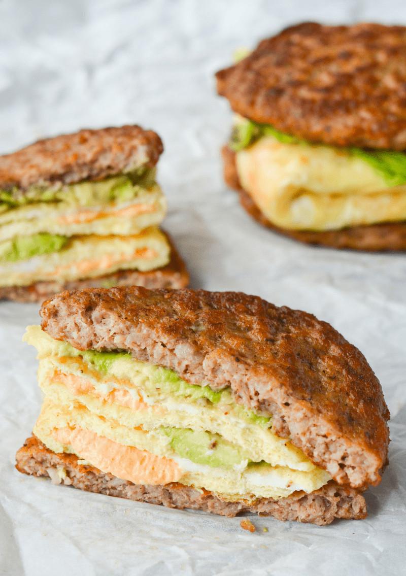 Breakfast Keto Recipes  My Favorite Keto Breakfast Sandwich Hey Keto Mama