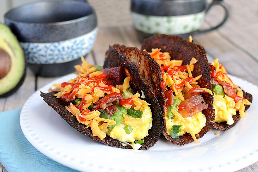 Breakfast Keto Recipes  Keto Breakfast Tacos