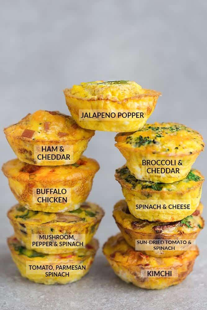 Breakfast Keto Recipes  Low Carb Breakfast Egg Cups 9 Ways Life Made Keto
