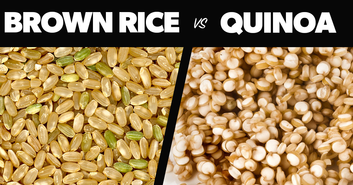 Brown Rice Or Quinoa For Weight Loss  Quinoa vs Brown Rice Eat Fit Fuel