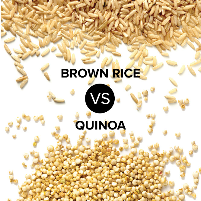 Brown Rice Or Quinoa For Weight Loss  Brown Rice VS Quinoa What is the Healthier Grain