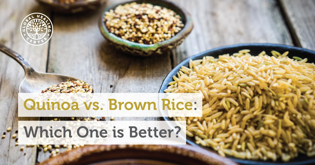 Brown Rice Or Quinoa For Weight Loss  Quinoa vs Brown Rice Which e is Better