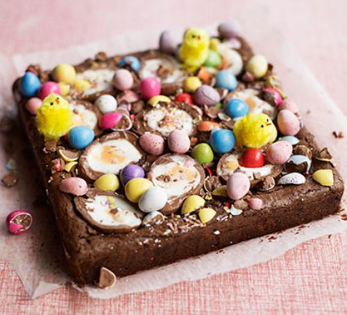 Brownie Easter Desserts  Easter egg brownies recipe