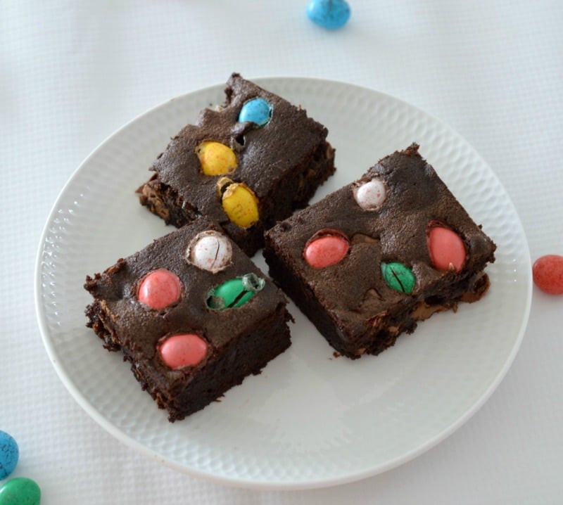 Brownie Easter Desserts  Thermomix Easter Egg Brownies Thermobliss