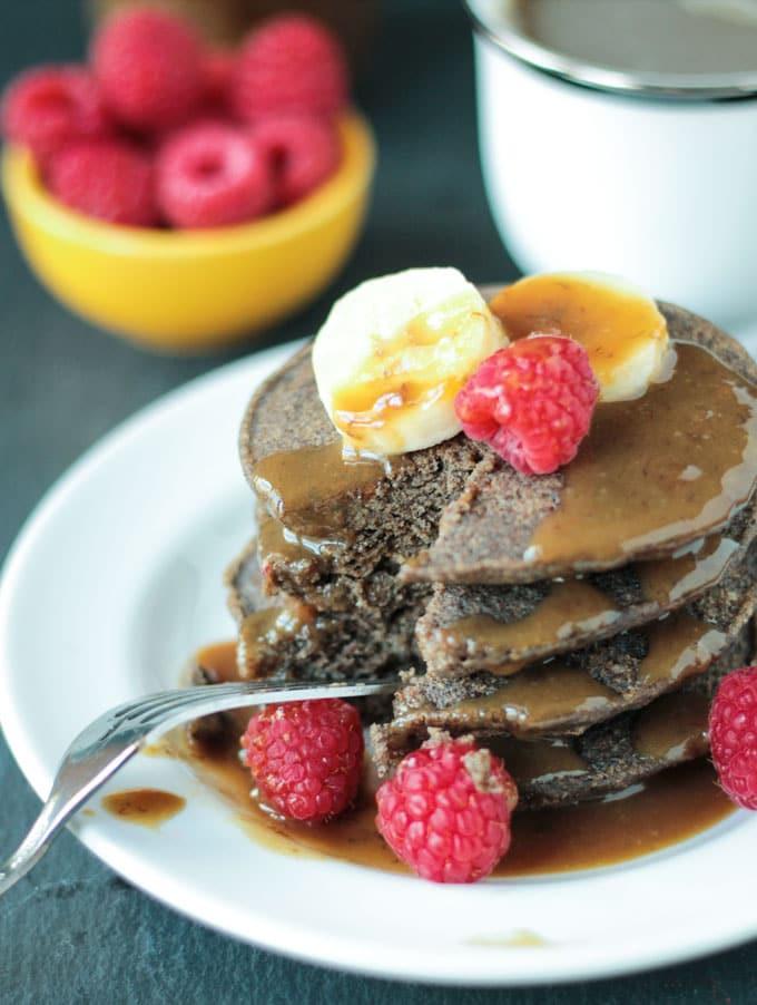 Buckwheat Pancakes Gluten Free  Gluten Free Buckwheat Pancakes Veggie Inspired