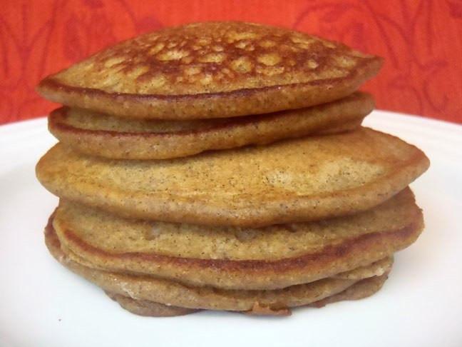 Buckwheat Pancakes Gluten Free  Gluten Free Buckwheat Pumpkin Pancakes