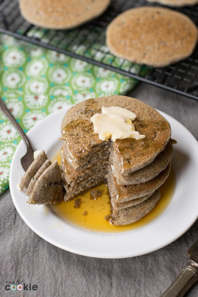 Buckwheat Pancakes Gluten Free  Whole Grain Gluten Free Buckwheat Pancakes Vegan • The