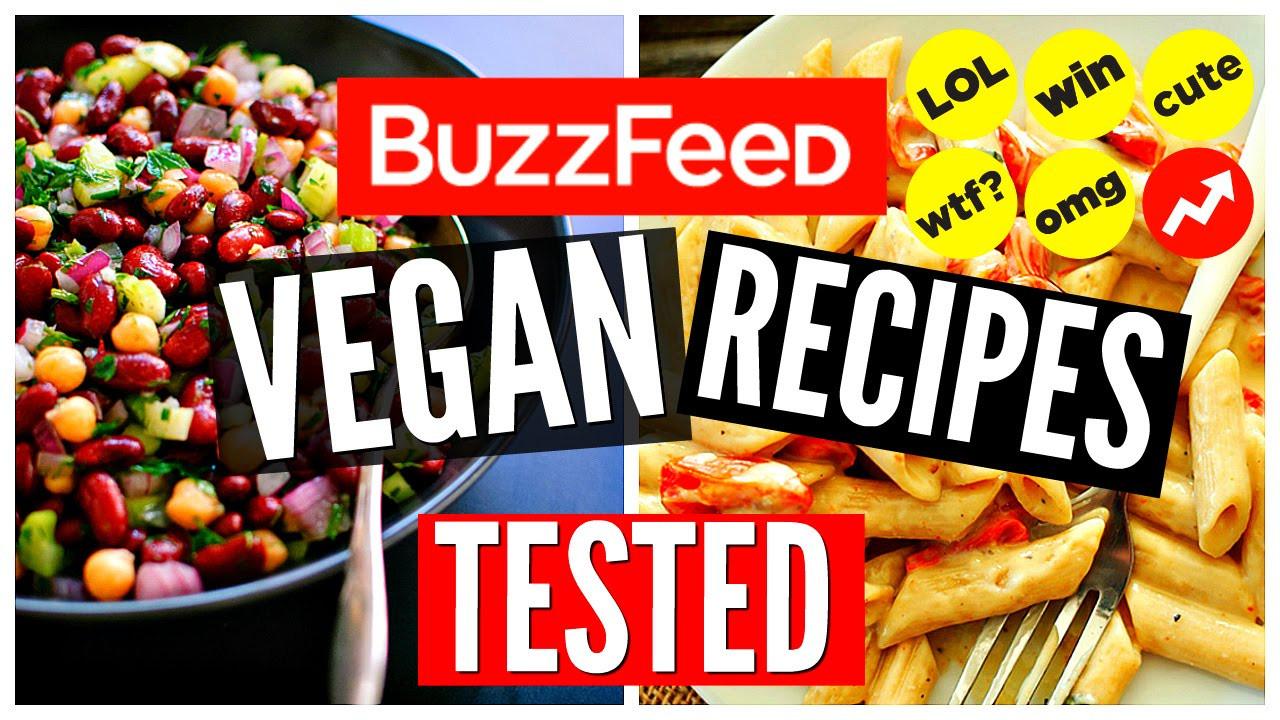 Buzzfeed Vegan Recipes  BuzzFeed Vegan Recipes TESTED Healthy Vegan Dinner Ideas