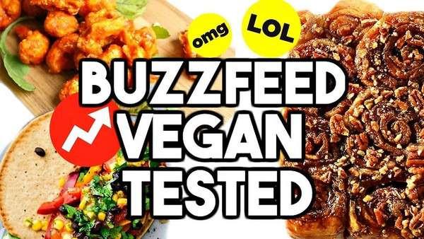 Buzzfeed Vegan Recipes  BUZZFEED VEGAN RECIPES TESTED Vegan Cinnamon e News