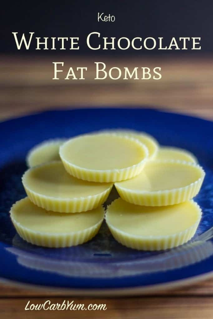 Can You Eat Peanut Butter On A Keto Diet  White Chocolate Keto Fat Bombs Recipe