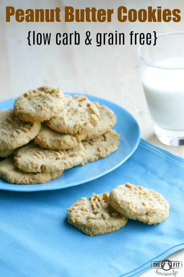 Can You Eat Peanut Butter On A Keto Diet  Low Carb and Grain Free Peanut Butter Cookies The Fit