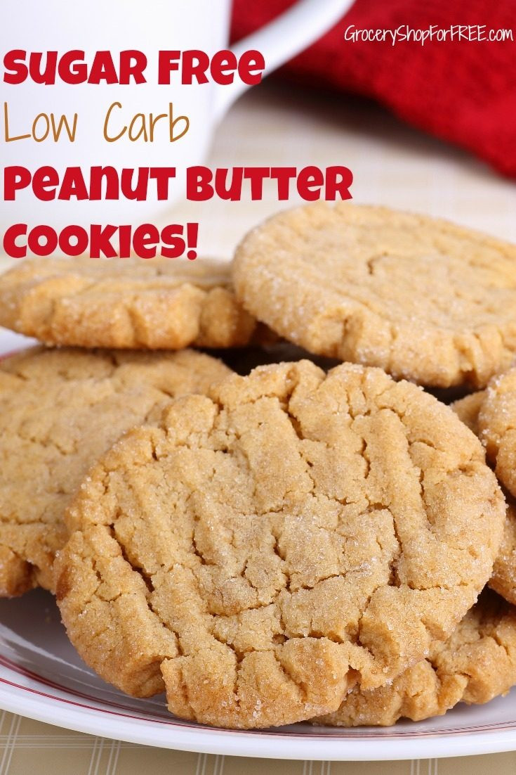 Can You Eat Peanut Butter On A Keto Diet  Peanut Butter Cookies Keto Sugar Free Low Carb Recipe