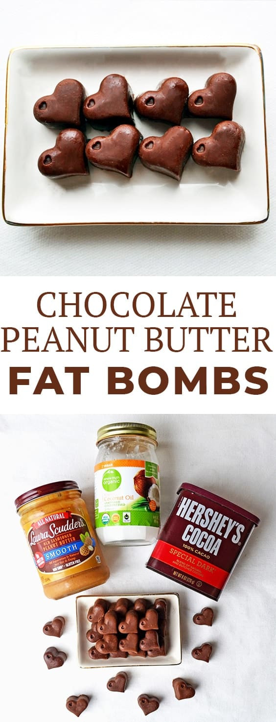 Can You Eat Peanut Butter On A Keto Diet  Peanut Butter Chocolate Keto Fat Bombs Recipe