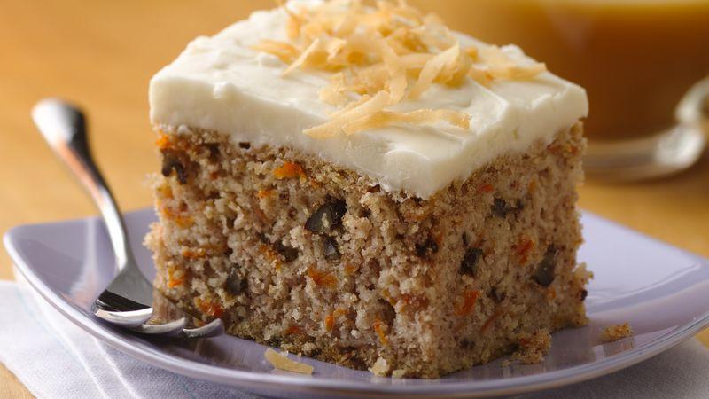 Carrot Cake Recipes Gluten Free  Easy Gluten Free Carrot Cake recipe from Betty Crocker