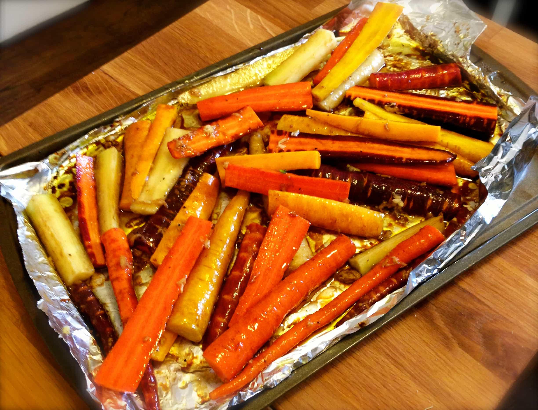 Carrot Recipes Vegetarian  Vegan Honey Glazed Carrots Vegan Bandit