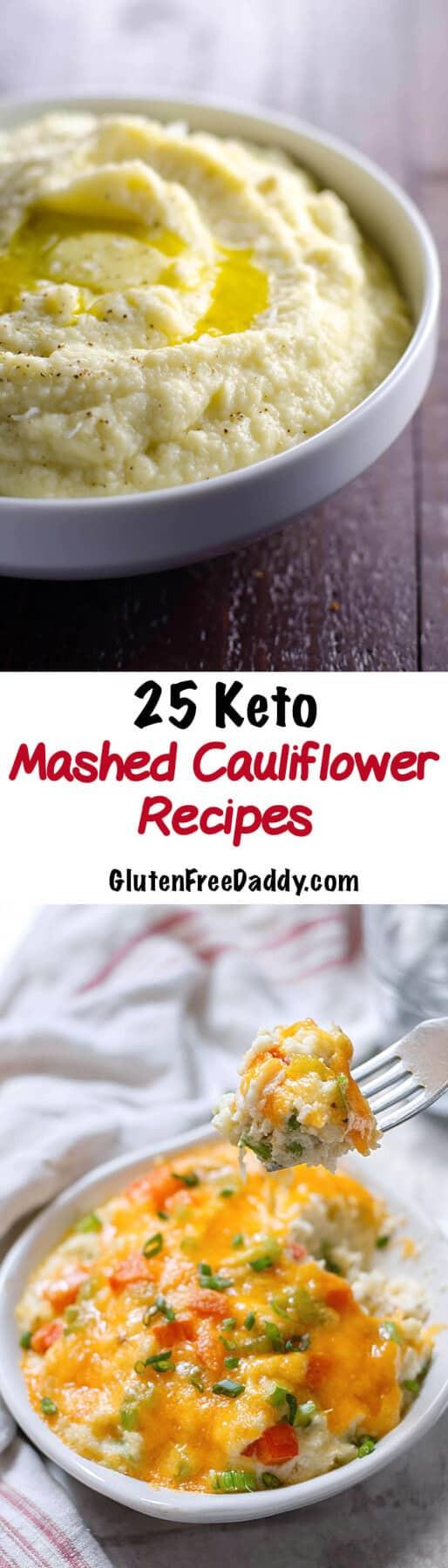Cauliflower Mashed Potatoes Keto  9 of the Best Ever Mashed Cauliflower Keto Recipes