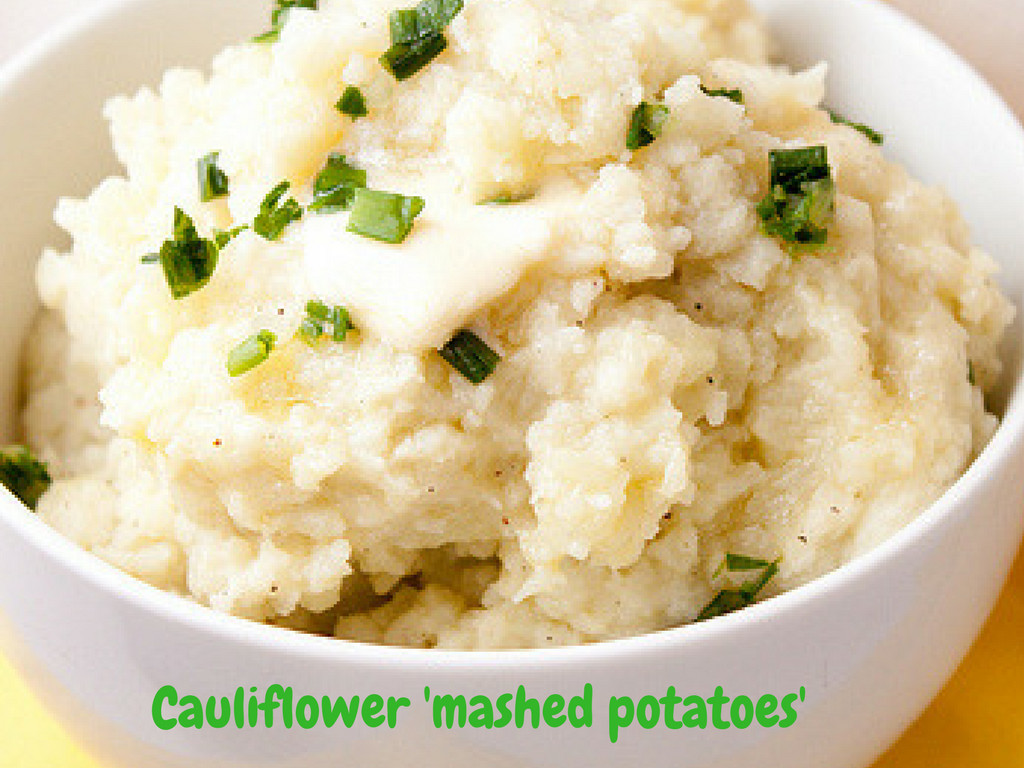 Cauliflower Mashed Potatoes Keto  Low Carb Cauliflower Mashed Potatoes – Ketogenic VIP