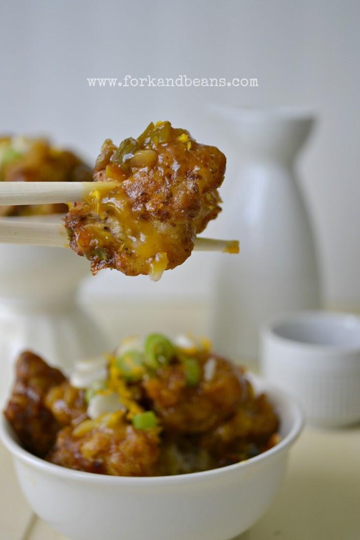 Cauliflower Vegan Recipes  Cara s Crispy Orange Cauliflower Vegan Glutenfree Recipe