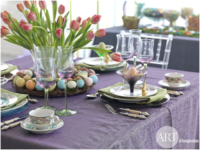 Cheap Easter Dinner Ideas  20 Wonderful Table Decorations For A Lovely Easter Brunch