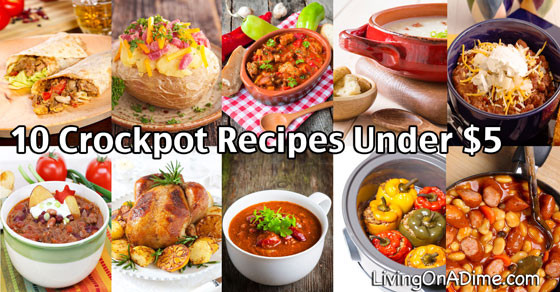 Cheap Easter Dinner Ideas  10 Crockpot Recipes Under $5 Easy Meals Your Family Will