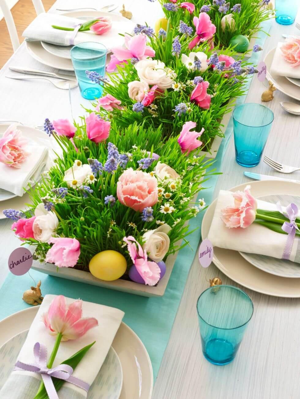 Cheap Easter Dinner Ideas  19 Beautiful DIY Easter Centerpiece Ideas Style Motivation