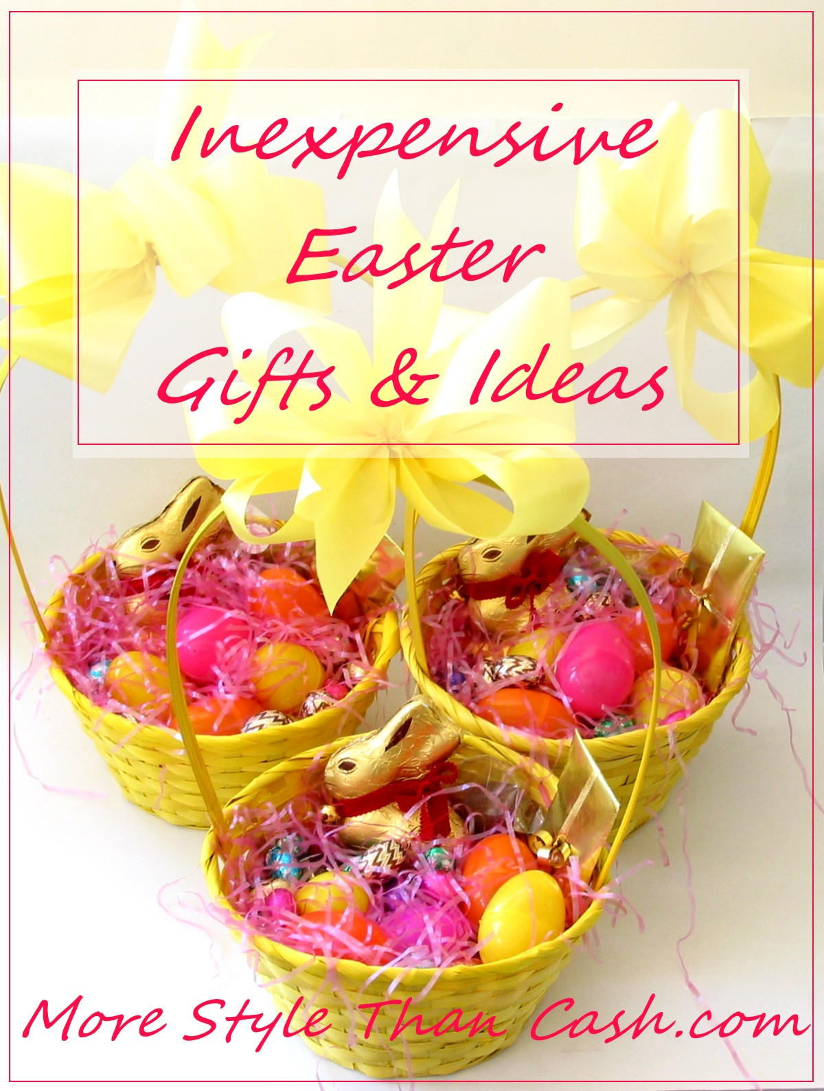 Cheap Easter Dinner Ideas  Inexpensive Easter Gifts and Ideas