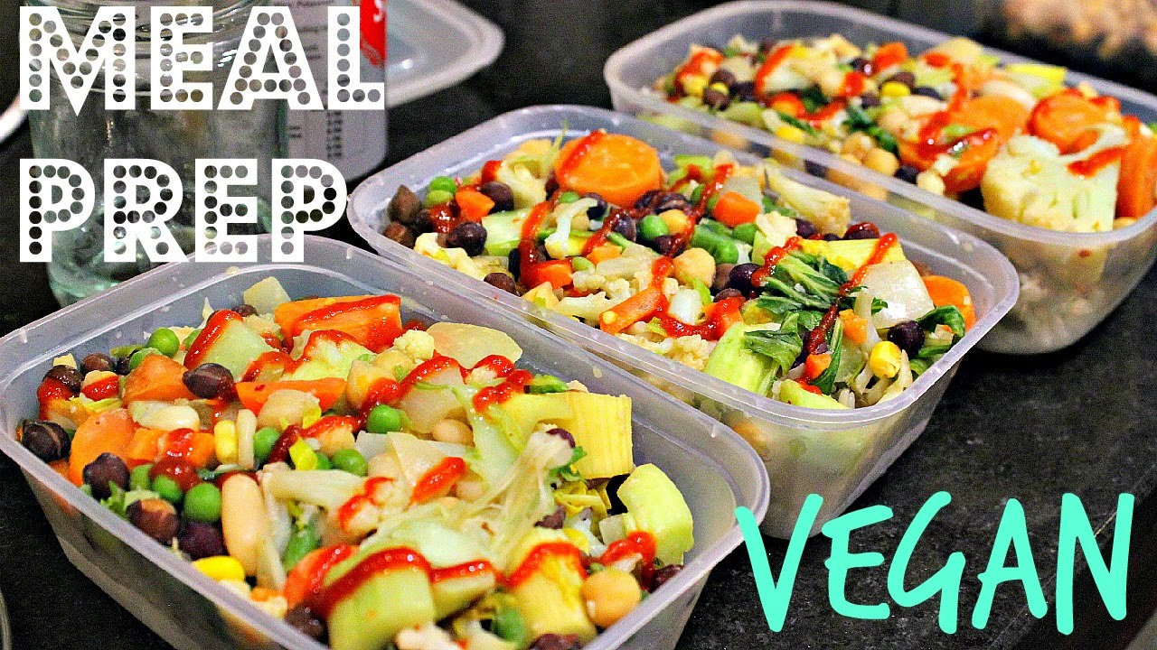 Cheap Low Calorie Dinners  VEGAN MEAL PREP 5 Easy Low Fat Peanut Stirfry