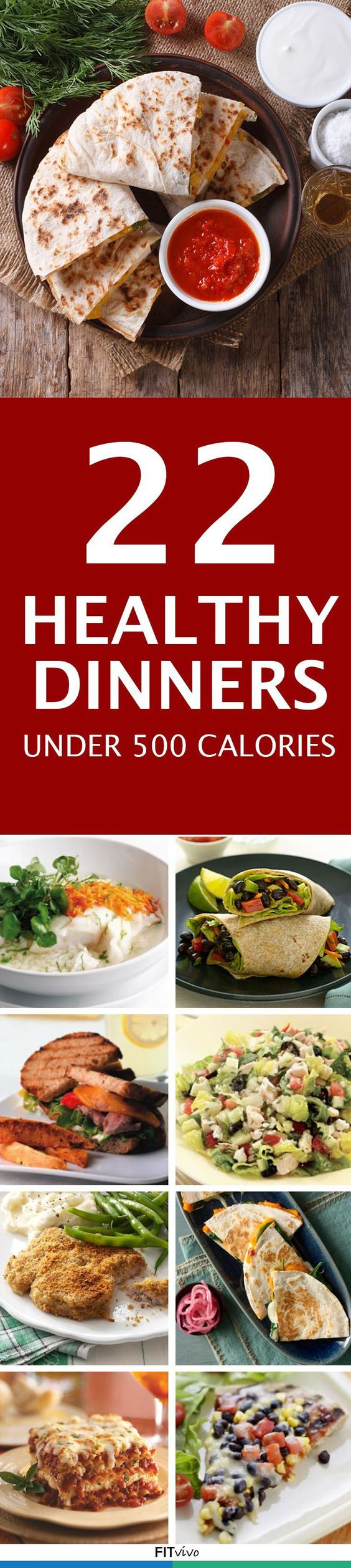 Cheap Low Calorie Dinners  Healthy Dinner Recipes 22 Meal Recipes Under 500