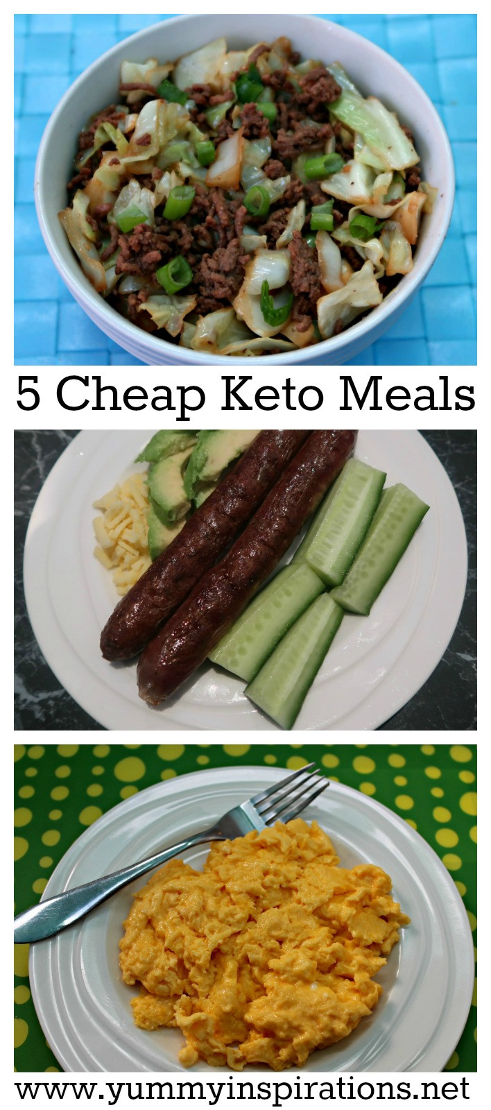 Cheap Low Carb Dinners  5 Cheap Keto Meals Low Carb Keto Diet Foods A Bud
